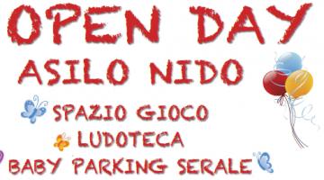 OPEN DAY ASILO NIDO, SPAZIO GIOCO, LUDOTECA E BABY PARKING SERALE