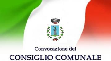 CONVOCAZIONE CONSIGLIO COMUNALE – VENERDI' 24 GENNAIO ORE 21.00