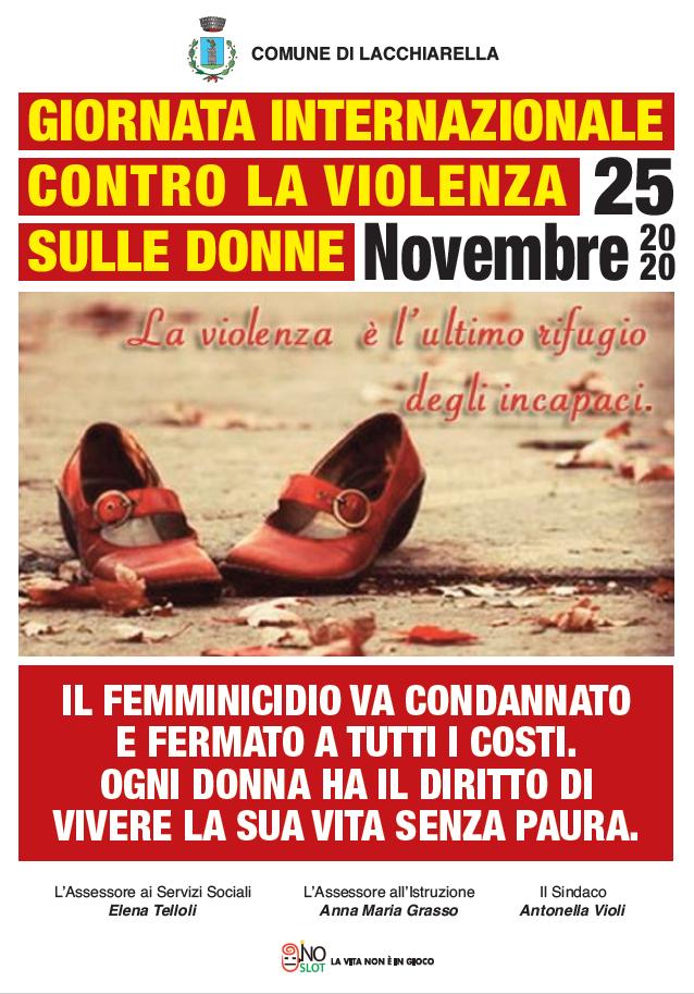giornata violenza donne