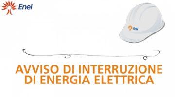 AVVISO INTERRUZIONE ENERGIA ELETTRICA VENERDI' 26 GIUGNO 2020