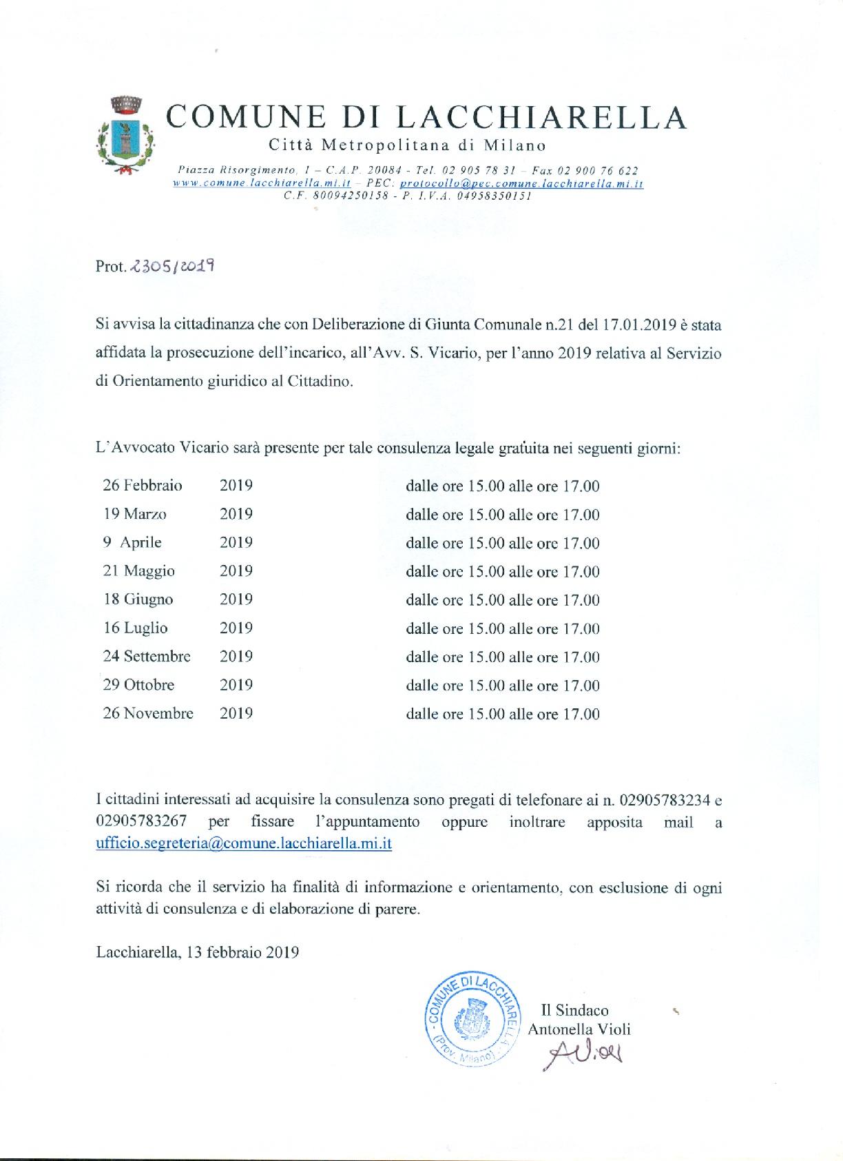 sportello legale gratuito 2019-001