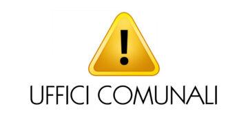 MODALITA' ACCESSO UFFICI COMUNALI SINO AL 05.03.2021